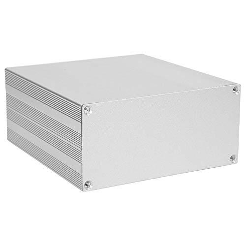 Gehäusekoffer 68x145x150mm Aluminium Projektbox Silber Gehäuse Schale für DIY GPS Analyzer HIFI Verstärker