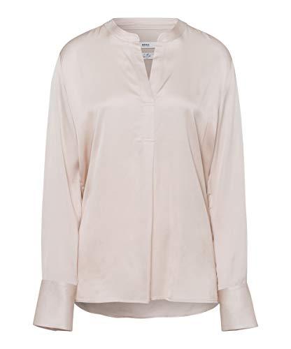 BRAX Damen Style Velvet Bluse, Nature, 40