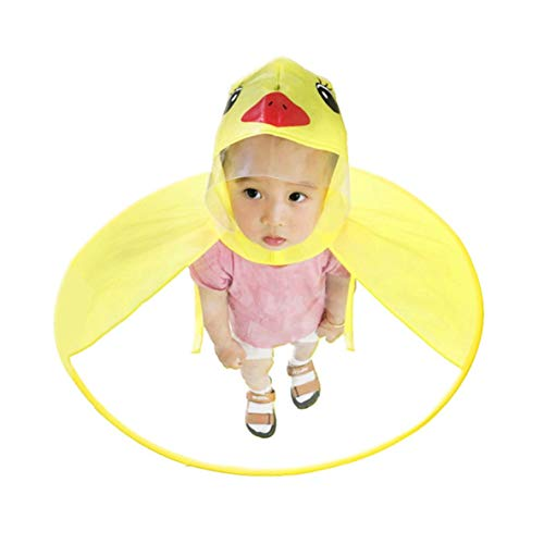 Rouku Impermeable niños Impermeables OVNI Manos Libres