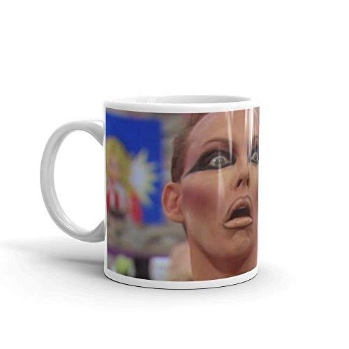Lsjuee Alyssa Edwards. Las tazas de 11 onzas son el regalo perfecto para todos. Taza de regalo brillante de cerámica de 11 oz para amantes del café.Regalo.