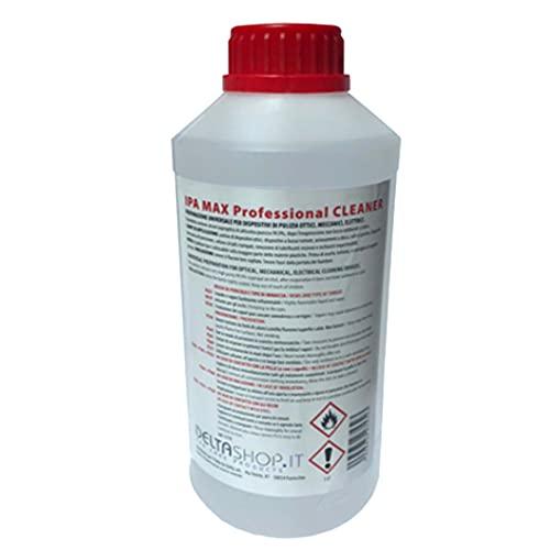 Detergente Isopropilico Ipa Puro al 99,9 % Alcool 2-propanolo, isopropanolo, Alcol Isopropilico 1Lt Prodotto Multiuso, Casa, Ufficio, Elettronica, Pulizia Stampanti 3D