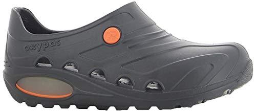 Oxypas Safety Jogger - Zapatos de trabajo unisex para adultos, color negro, talla 41/42
