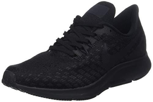 Nike Wmns Nike Air Zoom Pegasus 35 Zapatillas de Running Mujer, Multicolor (Black/Oil Grey/White 002), 36.5 EU