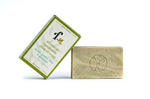 family. nostalgia | natürliche handgemachte Olivenölseife, ohne Parfum, vegan, ohne Palmöl | all natural handmade 90% Kalamata extra virgin olive oil soap 120 g (mint)