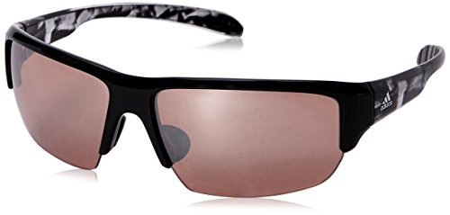 adidas Eyewear – Kumacross Halfrim, Color Black Shiny