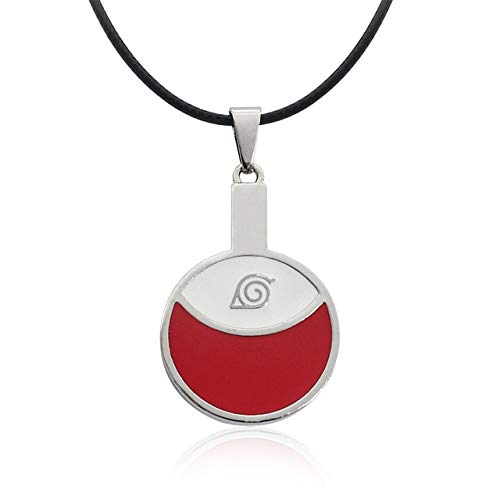 Mixed Styles Anime Naruto Symbol Pendant Necklace Art Crafts Hanging Ornanment Jewelry Accessories 5
