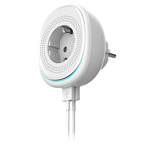 FULANTE Socket, los reglamentos Europeos Blancos de Puerto WiFi Inteligente del zócalo PC Material incombustible Dual USB