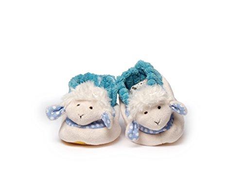 Inware , Chaussures souple pour bébé (garçon) Bleu Babyschuhe, 0 - 10 Monate Taille S