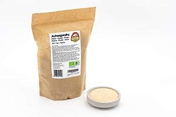 Poudre fine d'Ashwagandha en poudre: La poudre de racine pure à 100% provient d'Inde et est soigneusement testée en laboratoire en Autriche La poudre d'Ashwagandha biologique est fabriquée à la main à partir de racines d'Ashwagandha préalablement net...