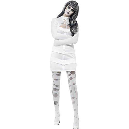 Disfraz de Psicpata en Camisa de Fuerza para Mujer