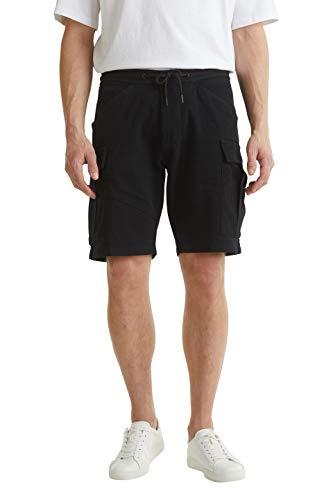 edc by ESPRIT Herren 040CC2C309 Shorts, 001/BLACK, 36