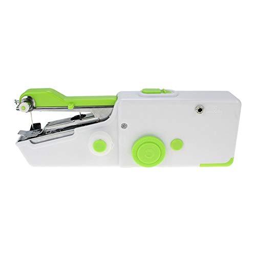 Mini máquina de coser manual práctica máquina de coser de mano para viajeros, adultos, principiantes, niños, emergencia, bricolaje y hogar