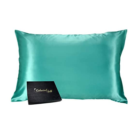 Celestial-Silk-100-Silk-Pillowcase-for-Hair-Zippered-Luxury-25-Momme-Mulberry-Silk-Charmeuse-Silk-on-Both-Sides-of-Cover-Gift-Wrapped