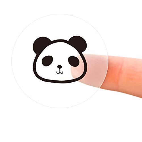 "Label Maker Tape Dollcora Waterproof Tear Proof Label Print Paper Standard Laminated Office Labeling Tape for D11 Portable Label Printer Machine - 0.55""1.1""/ 220pcs - 2 Pack"