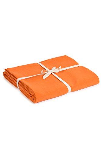 Yoga Studio Blanket/Saffron/YS Manta de Yoga (algodón orgánico), Unisex Adulto, Azafrán, Normal
