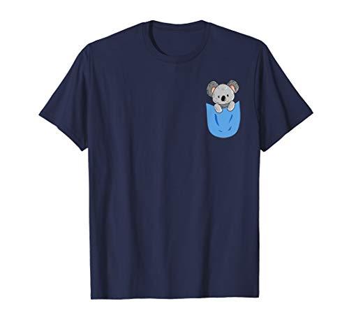 Koala in der Tasche Koalas Australien Geschenk Tier Koalabär T-Shirt