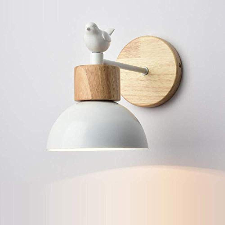 OwentsWall Lamp Nordic Weiß Wandleuchte Simple Bird Bedroom Bedside Wandleuchte Living Room Tv Wandleuchte Aisle Corridor Lights