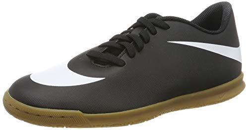 Nike Bravata II IC Voetbalschoenen voor volwassenen, uniseks, zwart (zwart/wit-zwart 001), 39 EU