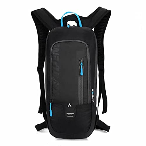 BLF Bike Backpack, Waterproof Breathable Cycling Bicycle Rucksack, 10L Mini Ultralight Biking Daypack Sport Bags Gift for Fitness Running Hiking Climbing Camping Skiing Biking Trekking (Black)