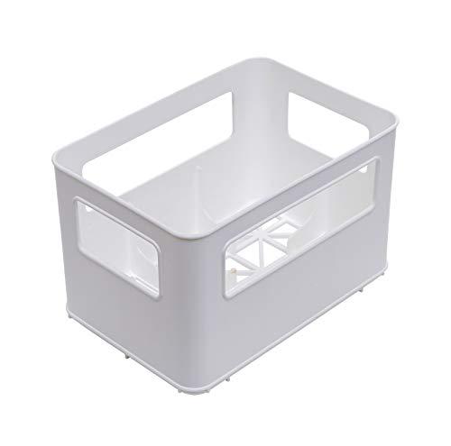 Rotho Babydesign 30036 0001 - Flaschenbox für bis zu 6 Standard- oder Weithalsbabyflaschen, weiß