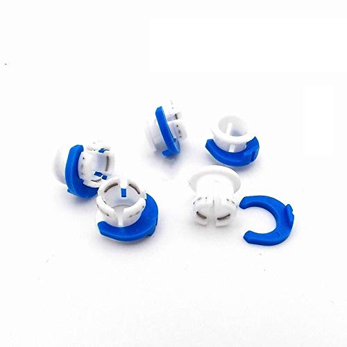 XBaofu 10PCS UM2 Ultimaker 2 Extended+ Bowen Tube Card Feed Tube Blue White Buckle For Hot End Print Head 3D Printer
