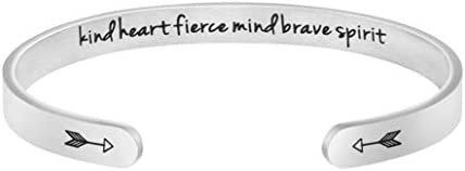 Joycuff Bracelets for Daughter Sister Teen Girls Girlfriend Best Friend Encouragement Gift Inspirational product image