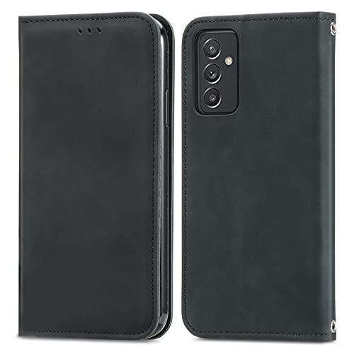 Coque Portefeuille pour Samsung Galaxy A82 5G Housse Etui en Flip Case, Magnétique Carte Fentes Stand, Protection Antichoc Cover pour Samsung Galaxy A82 5G - JESD250308 Noir