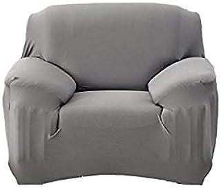 Home Decor,Sofa Cover for 1 Seater -Gray