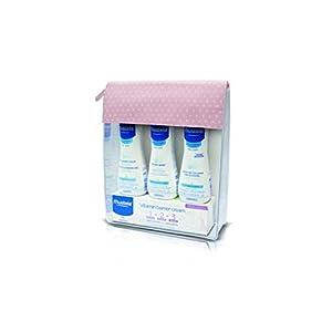 MUSTELA Básicos Rosa Neceser con 4 Productos, Negro, 150 gr