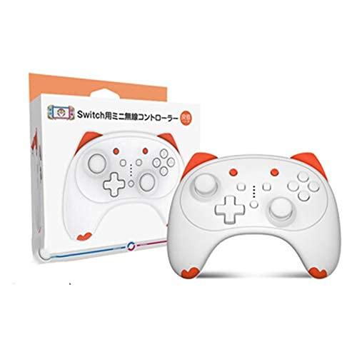 Controlador inalámbrico, controlador inalámbrico de dibujos animados para interruptor Pro/Lite, lindo controlador inalámbrico Gamepad regalos para hombres y mujeres (naranja)