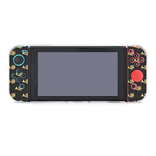 Funda para Nintendo Switch French Horn Instrument - Juego de 5 piezas con funda protectora compatible con Nintendo Switch Game Console