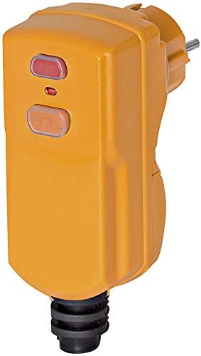 Brennenstuhl 1290651Stecker Differenzdruck 10mA 1P + N + T 16A 230V IP55