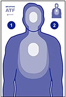 SIMULATED DISTANCE REDUCED TQ-15 TARGET 50 PACK
