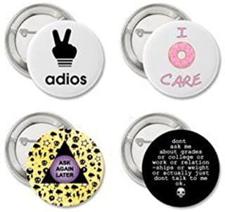 Amazon com: funny pins - Buttons / Fasteners: Arts, Crafts
