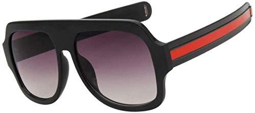 NIUASH Sonnenbrille polarisiert Frauen quadratische Sonnenbrille Mode gemischte Farben Beine Männer Retro Brillen klar gelb Sonnenbrille weiblich Uv400-C01