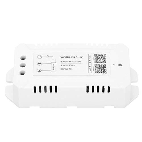 Liineparalle WiFi Intelligent Light Dimmer Fernbedienung Timing Switch Unterstützung für Google Home für Alexa Voice Control AC100-240V