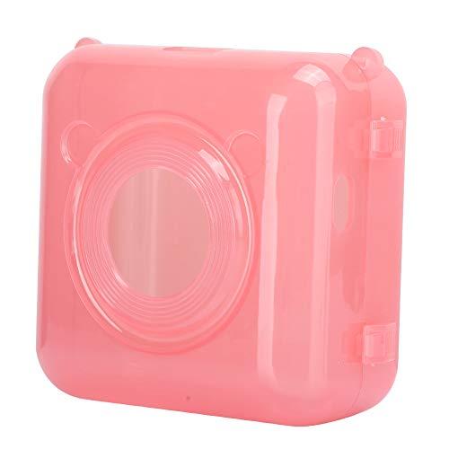 minifinker Cubierta Protectora, Reduce El Desgaste Se Engancha En El Diseño Practicidad Carcasa Protectora Material De La PC para La Impresora Térmica De Bolsillo Peripado(Rosado)