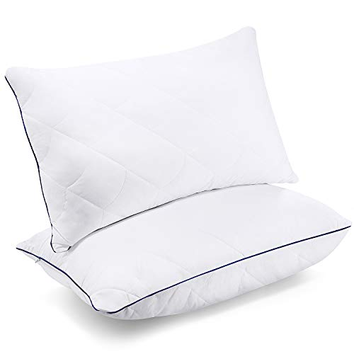 Sable Pillows for Sleeping - Queen Size Set of 2 - Luxury Down Alternative Pillows with Cotton Cover...