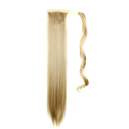 """Quibine 24"""" Postiche Queue de Cheval Extension de Cheveux Perruque Droites, 27-613"""