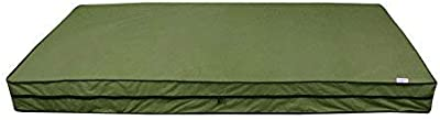 Dream Care Waterproof Mattress Cover, 72X75X6, LightGreen, Polycotton