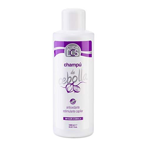 Cuidados Champú de cebolla. Reduce la grasa. Estimulante capilar. Antioxidante cabello. Purificante. Todo tipo de cabello. Aceite de Macadamia - 1000 ml