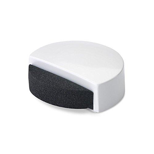 Inofix M88370 - Tope puerta adhesivo silencioso 2057 blanco1 unidad