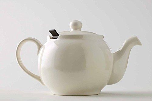 London Teapot - Tetera de 4 Tazas con Filtro, Color Beige