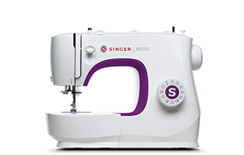 SINGER | M3500 Sewing Machine with 32 Built-In Stitches, & Built-In Needle Threader - Perfect for...