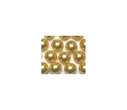 Oro Renaissance perlas de cristal 4mm 345pk