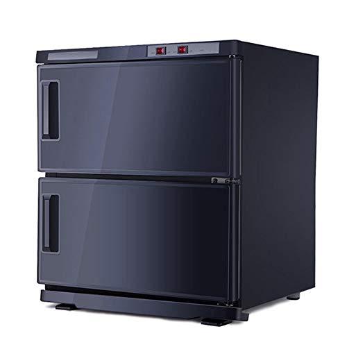 XWEFMNQ UV-desinfectie apparatuur, Zwart Verwarming desinfectie kabinet, Schoonheidssalon Hotel Kleuterschool Handdoek Verwarming desinfectie kabinet