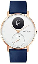 Withings/Nokia | Steel HR Hybrid Smartwatch - Activity Tracker with Connected GPS, Heart Rate Monitor, Sleep Monitor, Smart Notifications, Water Resistant with 25-day battery life - Akıllı Saat