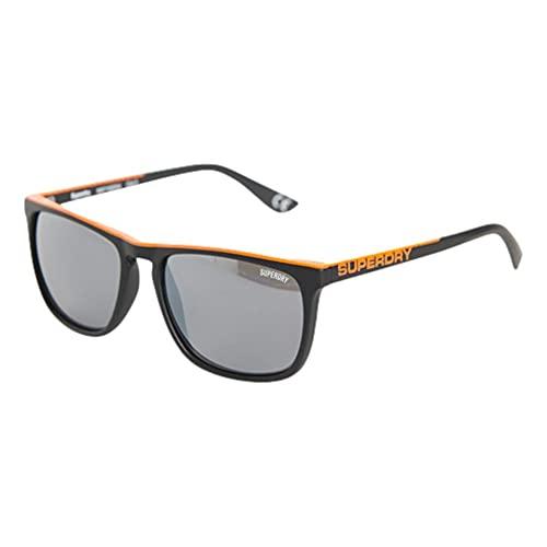 Superdry SDR SHOCKRUBBER Gafas, Black/Orange, One Size para Hombre