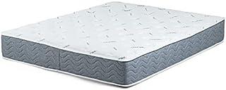 مرتبة سرير بتبطين ميموري فوم ونابض مع جيب مزدوج، ابعاد 100 × 195 سم