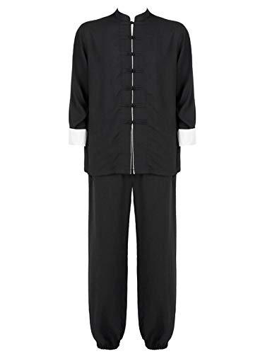 Freebily Unisexe Adulte Traditionnel Chinois Tai Chi Uniform